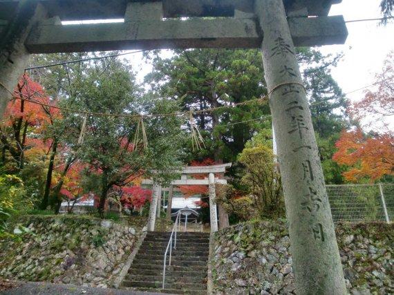 坂本八幡神社鳥居